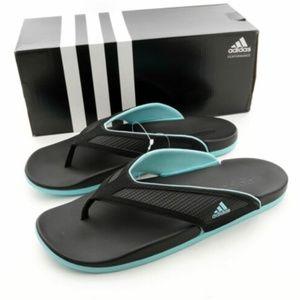 Adidas Adilette Women's Flip Flops Sandals BLACK &